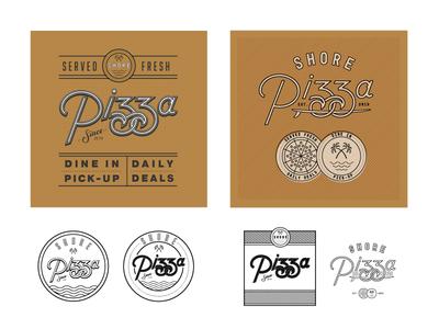 Shore Pizza Box/Badge Concepts