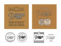 Shore Pizza Box/Badge Concepts