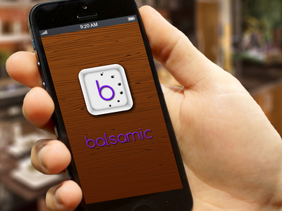 Balsamic Splash Screen