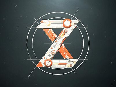 Personal Logo Motion mograph indent octane 3d machine scifi mechanic render cinema4d c4d motion animation