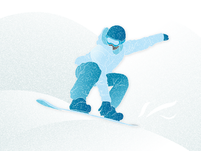 Snowboarding vector design illustration