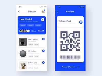 Smart Home App X music web design clean smarthome blue app ui