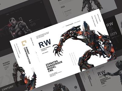 Machine armor 6 game sketch hero design web ui