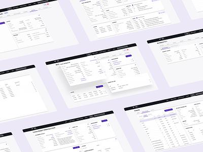 Nordic Trustee Platform system exchange stock market financial dashboard material design app webdesign design webapp desktop frontend ux ui
