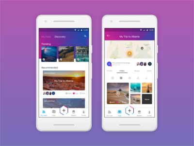 Social Travel App - Triptalk