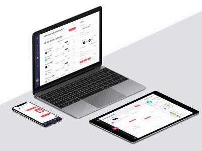 Job Recruitment Platform recruitment filters social cross platform app chat app jobs chat ui design