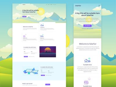 Web Designs for SolarFair v1