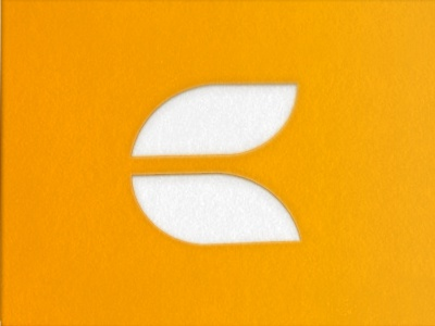 Personal Logo personal logo c orange mark monogram