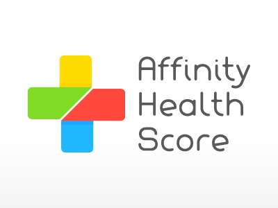 Affinity Health Score Logo affinity health score logo plus cross