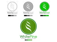 White Pine Energy Consulting Logo (Progression)