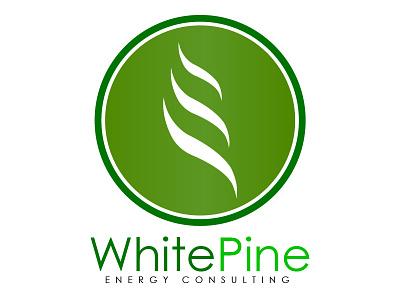 White Pine Energy Consulting Logo white pine energy consulting logo (progression)