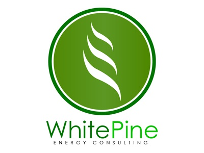 White Pine Energy Consulting Logo  white pine energy consulting logo (progression)