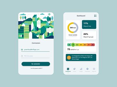 Greenboy - UI/UX green mobile mobile design mobile app design illustration mobile app mobile ui web design ux ui