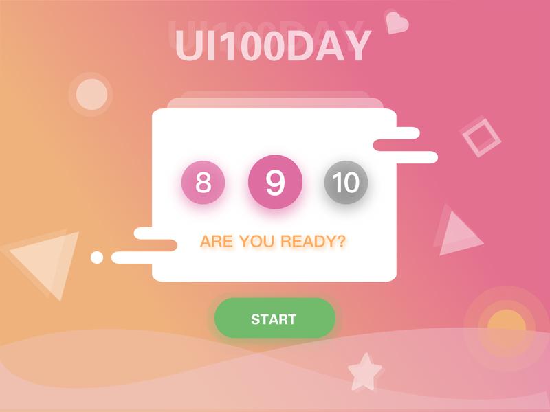 Daily design 9/100 -UI100 days ui