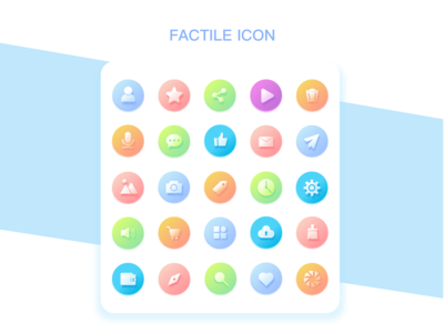 FACTILE ICON