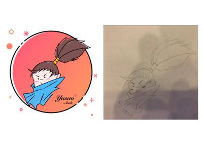 Daily design 16/100-Hand drawn conversion illustration