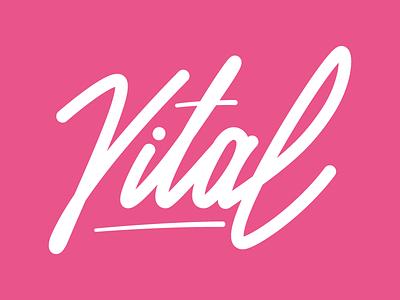 Vital 2018 lettering ai