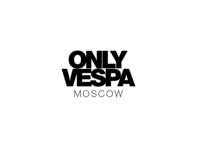 Only Vespa 2018 tight helvetica logotype vespa mvc typography ai