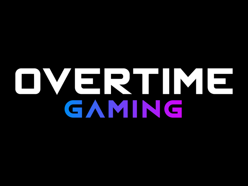 """Official Logotype for """"OvertimeGG"""" vector brand and identity creative corporate design esports identity branding brand logo"""