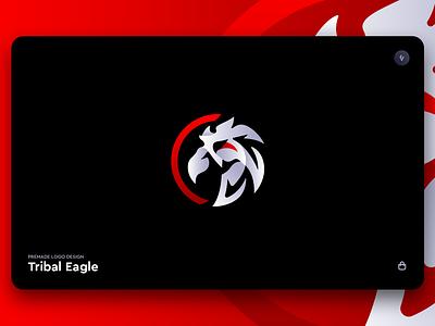 'Tribal Eagle' - Logo Design gaming brand and identity corporate creative design esports identity branding brand logo