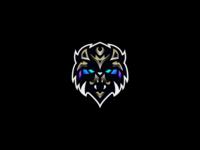 """""""Cyber Tiger"""" - Premade Mascot"""
