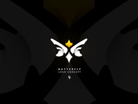 """ royal butterfly "" - Logo Concept"