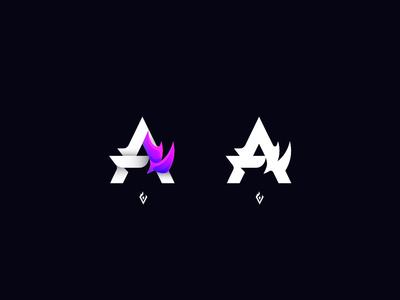 """Abstract """"A"""" - Logo Concept"""
