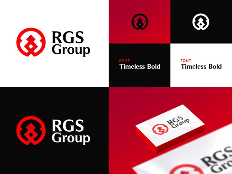 Logo Design - 'RGS Group' creative vector ui brand and identity corporate design identity branding brand logo