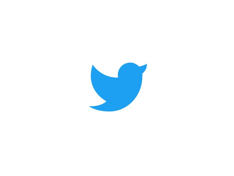 Logo Redesign for 'twitter' vector design brand and identity corporate identity branding brand logo twitter