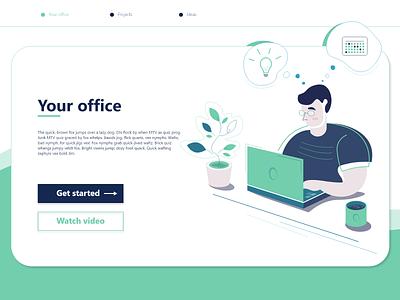 web office illustrations design people illustration work office people web design website web