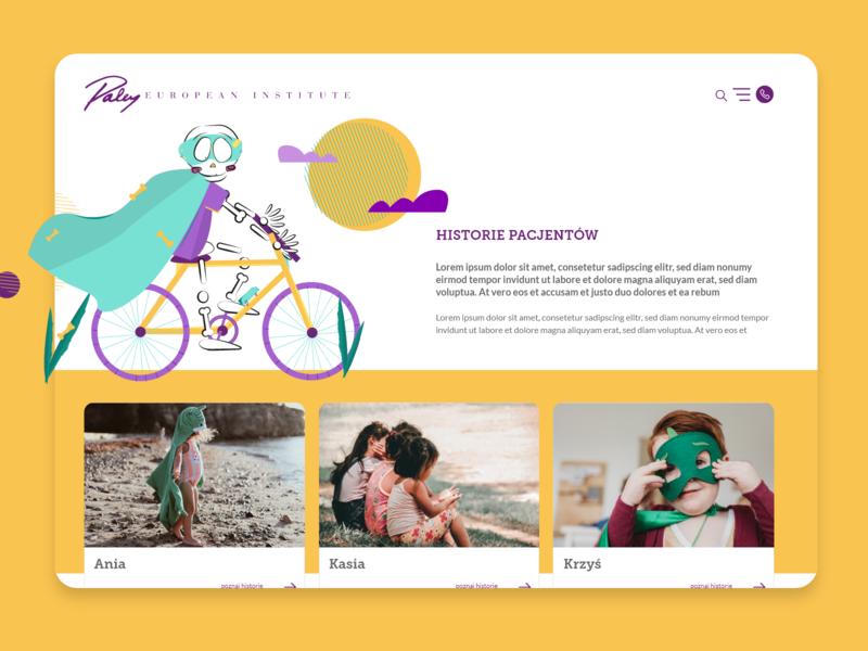Paley European Institute webdesign website work web bone