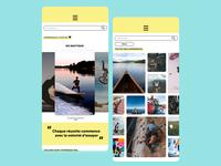 UX/UI- SPORT icon design app typography design color branding mobile ui app ux design ui design