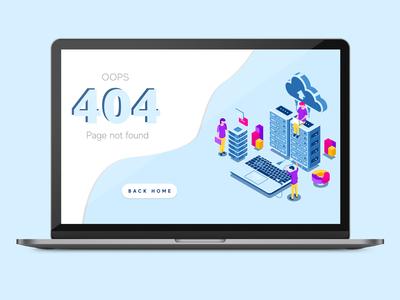 UI/UX DESIGN - 404 ERROR PAGE
