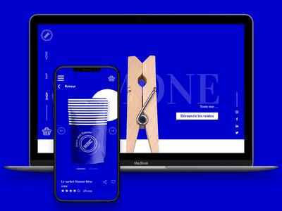 UX/UI - EXPERIENTIAL SITE logo design website branding minimal web ux ui ux design ui design