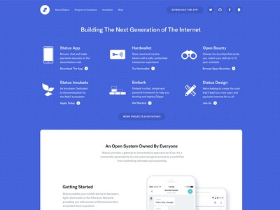 Because who doesn't like redesigns ... website flat design redesign ethereum blockchain