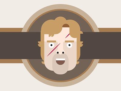 Tyrion Lannister tyrion lannister got game of thrones illustration minimal portrait vector illustrator