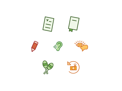 Icons object line vector icon