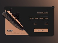 Daily UI #002   Creditcard checkout #1