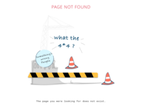 404 page concept