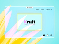 Kraft creative services - landing page