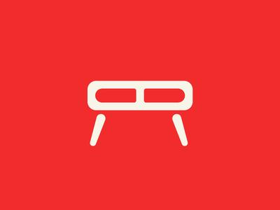 MARC Hand Made Furniture logo vector identity flat design branding