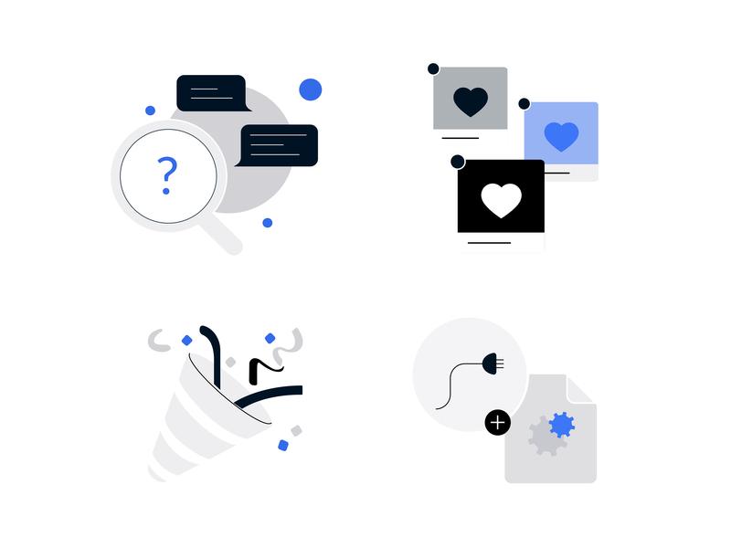 Spot Illustrations icon web vector identity ui illustration flat