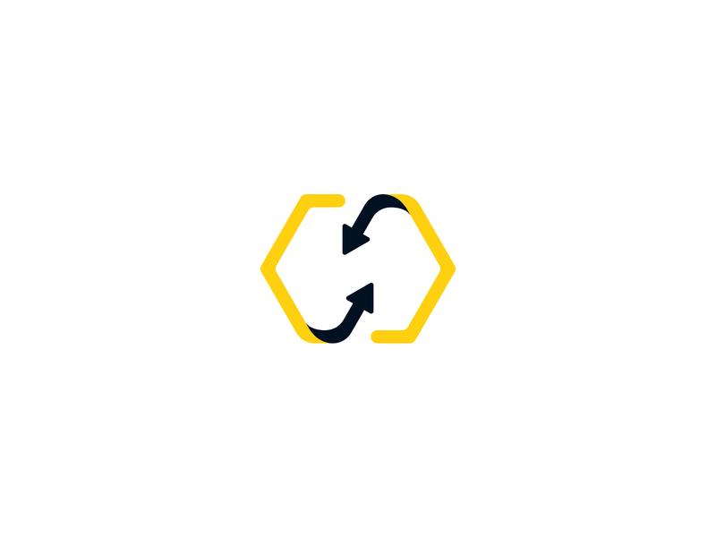 BrandHive Logo dam cms branding design logo identity