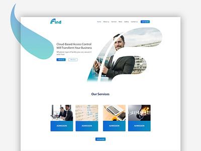 Find Consulting - Website Design & Development wsteam find consulting consultant consulting find vector waleedsayed illustration website design