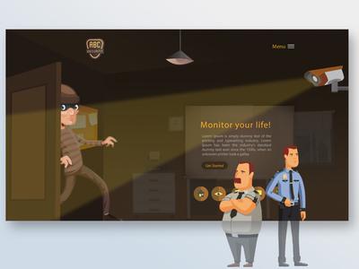 ABC Security Website design