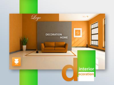 Decoration Home - Website Design webdesign illustration website design