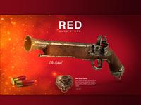 Red Guns Store Website Design