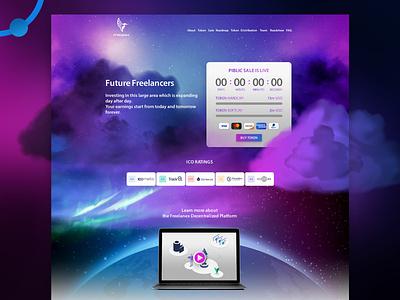 Freelanex ico Website Design Development freelancer customer uae dubai bankpayment payment ico freelanex freelance illustration waleedsayed design website