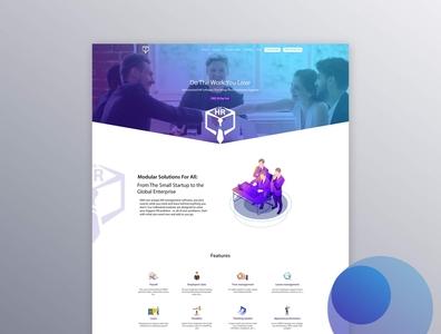 The HR System Website Design & Development egyptwebdesign thehr egypthr egypt hrmsystem ux design hrms hr ux ui waleedsayed illustration website design