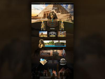 ARG Travel for Tourism - Website Design & Development vacation traveling japan japantravel travel agency egypttour tour tourism travel ui illustration website design